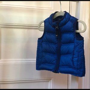 REI toddler goose down vest, 12 months
